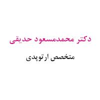 دکتر محمدمسعود حدیقی