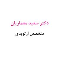 دکتر سعید معماریان
