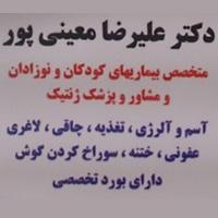 دکتر علیرضا معینی پور