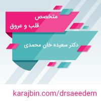 دکتر سعیده خان محمدی